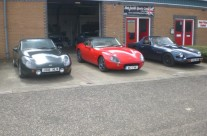 TVR's at Mat Smith Sportscars