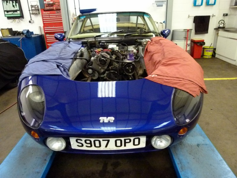 tvr griffith restoration mat smith sports cars mat smith sports cars. Black Bedroom Furniture Sets. Home Design Ideas