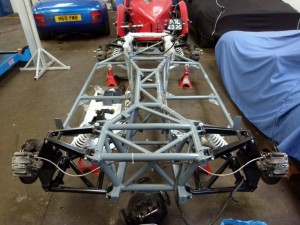 Tvr Chassis restoration