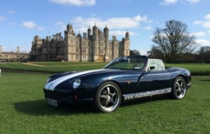 Burghley Mat Smith TVR Chimaera